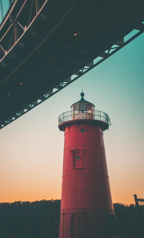 Masonry lighthouse