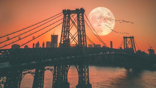 Masonry moonset
